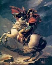 La seule image de Napoléon et de son petit chien.