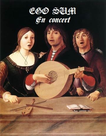 La publicité existe depuis la Renaissance : ici pour le groupe ego sum, ancêtre d'I am