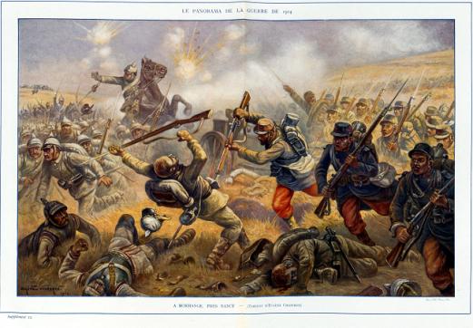 Les malentendus culturels pouvaient provoquer des incidents graves pendant la guerre