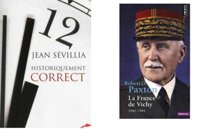Attention à bien choisir vos livres d'histoire. Ici à droite un livre rédigé par un bolchévique pro-gender mélenchono-trotskiste. A gauche un livre par quelqu'un qui aime la France, tout simplement.